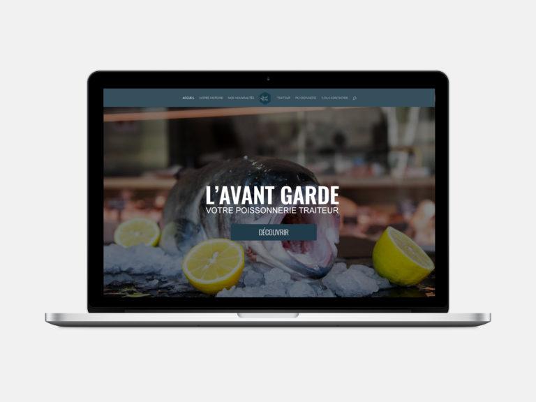 Site internet de L'Avant Garde